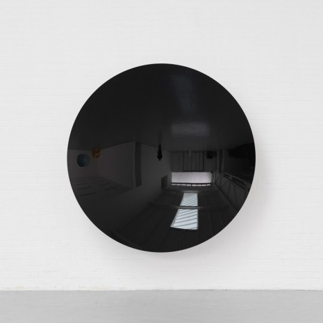 Anish Kapoor, Mirror (Black), 2014 , Gagosian