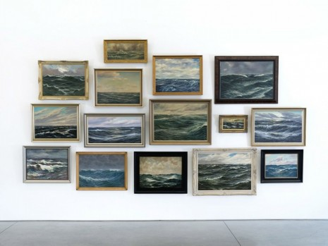 Hans-Peter Feldmann, Sea Paintings, , 303 Gallery