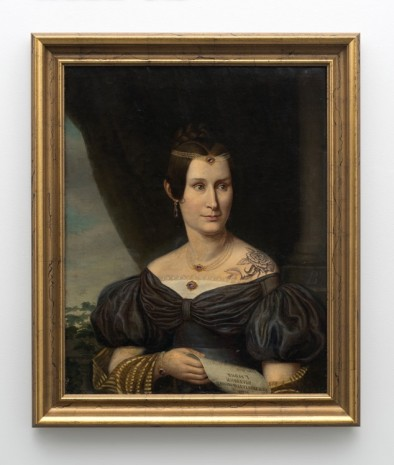 Hans-Peter Feldmann, Portrait of a woman with tattoo, , 303 Gallery