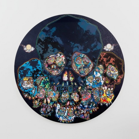 Takashi Murakami, Guardians of the Sunken Caribbean Treasure, 2016, Perrotin
