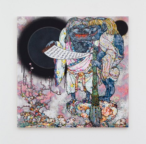 Takashi Murakami, Title to be determined, 2016, Perrotin
