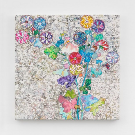 Takashi Murakami, Kōrin: Unknown, Even in Death, 2016, Perrotin