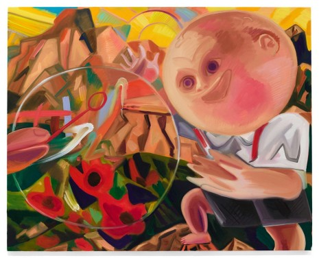 Dana Schutz, Boy with Bubble, 2015, Contemporary Fine Arts - CFA