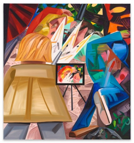 Dana Schutz, Shooting on the Air, 2016, Contemporary Fine Arts - CFA