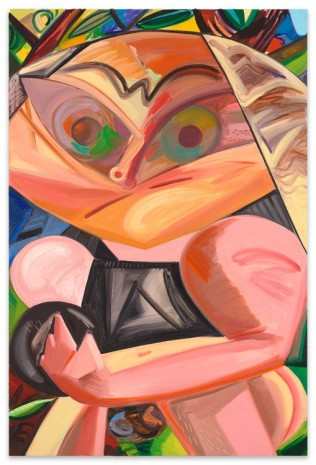 Dana Schutz, Bowler, 2016, Contemporary Fine Arts - CFA