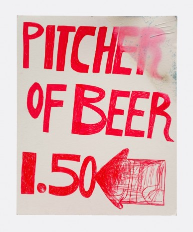 Mark Grotjahn, Untitled (Pitcher of Beer 1.50), 1993-1994, Blum & Poe