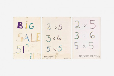 Mark Grotjahn, Big Sale / 2x5 3x6 5x5, 1994-1995, Blum & Poe