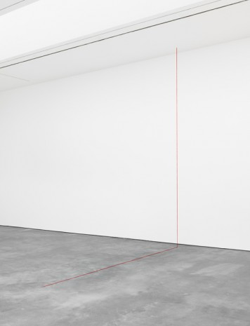 Fred Sandback, Untitled (Right-angled Construction), 1987, David Zwirner