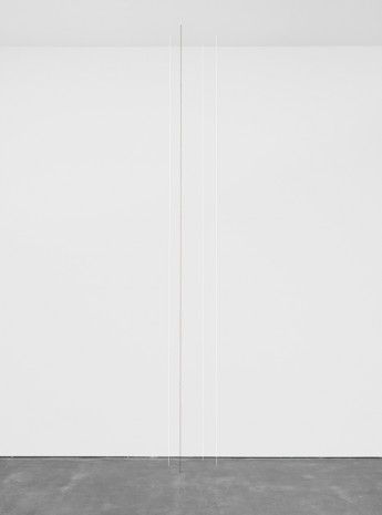 Fred Sandback, Untitled (Four-part Vertical Construction), 1987, David Zwirner