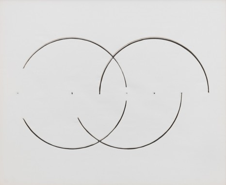 Gordon Matta-Clark, Cut Drawing, 1974, David Zwirner