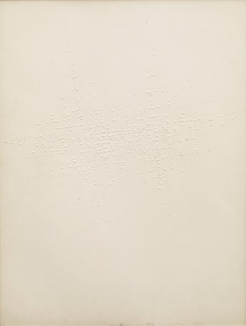 Hans Bischoffshausen, Untitled, 1964, David Zwirner
