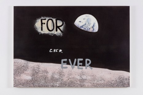 Nate Lowman, For Ever Ever, 2016 , Maccarone