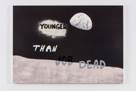Nate Lowman, Younger Than Job Dead, 2016 , Maccarone