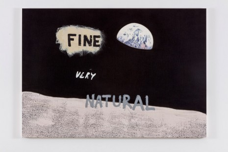 Nate Lowman, Fine Very Natural, 2016 , Maccarone