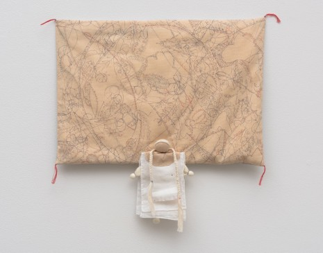 Ryoko Aoki, Pale-Colored Pillow, 2016 , Marc Foxx (closed)