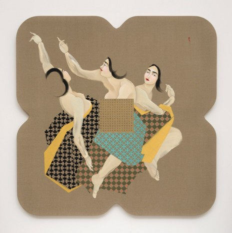 Hayv Kahraman, LRAD 3, 2016, The Third Line