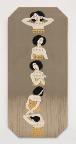 Hayv Kahraman, Search: 5 Steps, 2016 , The Third Line