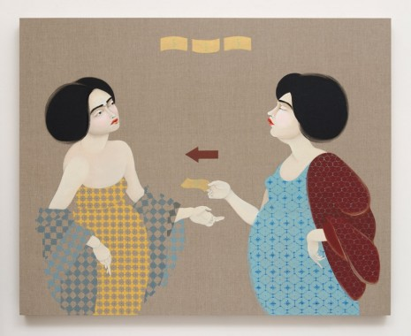 Hayv Kahraman, Turn in Bombmaker, 2016 , The Third Line