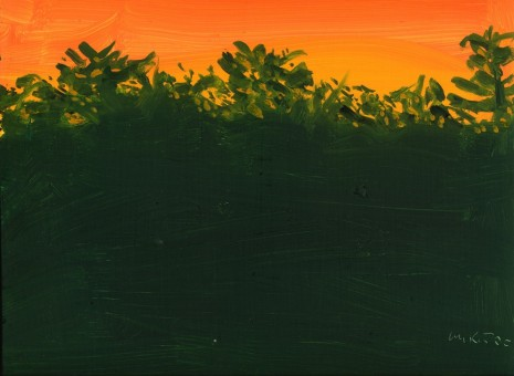 Alex Katz, Wood, 2000 , Monica De Cardenas
