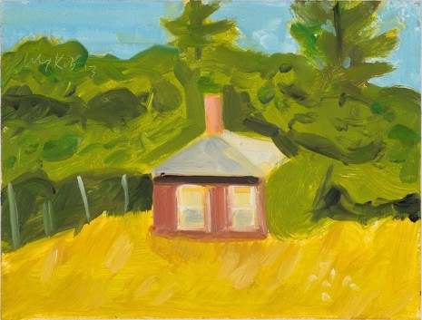 Alex Katz, Red House, 2015 , Monica De Cardenas
