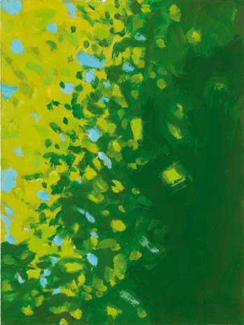 Alex Katz, Yellow and Green, 2005 , Monica De Cardenas