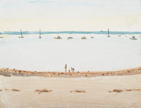 Alex Katz, Beach 2, 2013 , Monica De Cardenas