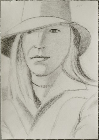 Alex Katz, Lady in hat, 2003 , Monica De Cardenas