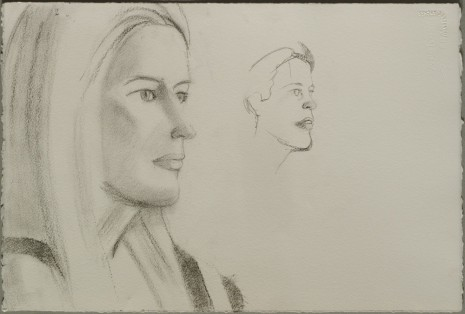 Alex Katz, Jessica and Roan, 1997 , Monica De Cardenas