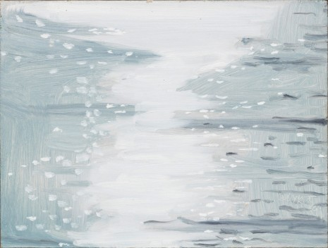 Alex Katz, Grey Light, 1991, Monica De Cardenas