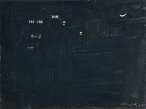 Alex Katz, Night, 1988 , Monica De Cardenas