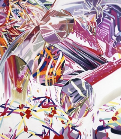 James Rosenquist, Coup d'Oeil - Speed of Light, 2001 , Galerie Thaddaeus Ropac