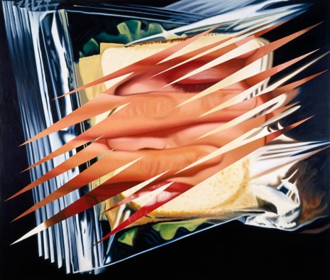 James Rosenquist, Embrace III, 1983 , Galerie Thaddaeus Ropac