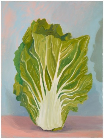 Allison Katz, Cabbage (and Philip) No.5, 2013 , The Approach