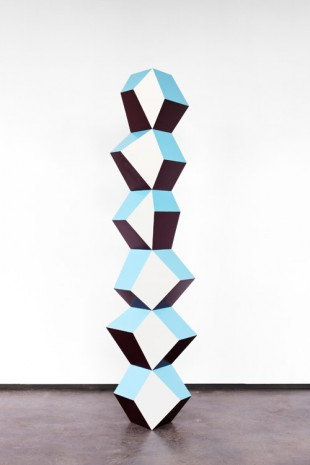 Angela Bulloch, Blue Wine Stack, 2016 , Simon Lee Gallery