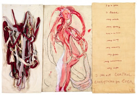 Louise Bourgeois, I Go to Pieces: My Inner Life (#6), 2010, Hauser & Wirth Somerset