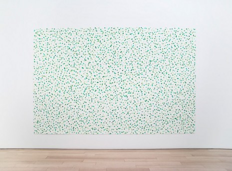 Spencer Finch, Spring (3,563 greens), 2016 , James Cohan Gallery