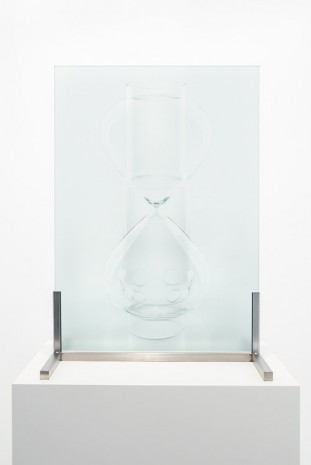 Ignasi Aballí, Double Object (Bec Auer/Hourglass), 2016, Galerie Nordenhake