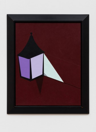Patrick Caulfield, Corner Lamp, 1998, The Approach