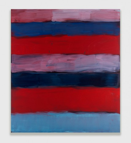 Sean Scully, Landline Red Veined, 2016 , Timothy Taylor