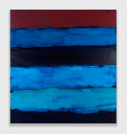 Sean Scully, Landline Blue Veined, 2016 , Timothy Taylor