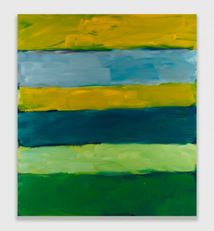Sean Scully, Landline Green Green, 2015, Timothy Taylor
