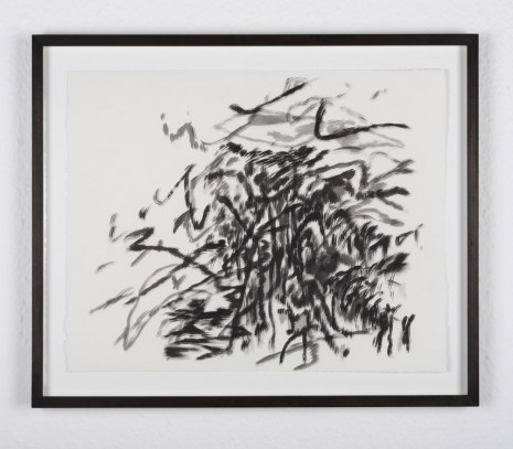 Julie Mehretu and Jessica Rankin, Struggling With Words That Count, 2014/2016, carlier I gebauer