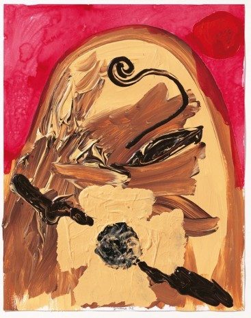 Jonathan Meese, Untitled, 2007, David Nolan Gallery