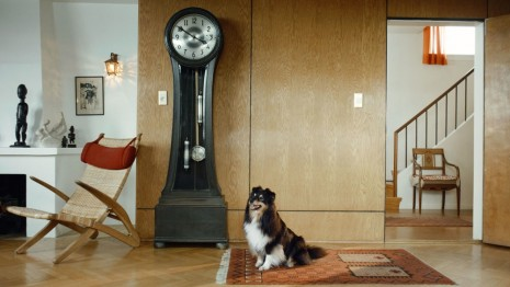 Ragnar Kjartansson, Scenes from Western Culture, Dog and Clock, 2015, Luhring Augustine