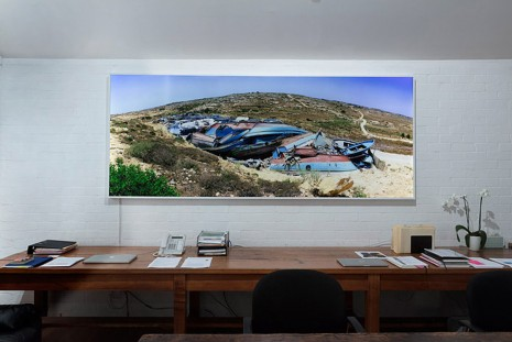 Isaac Julien, Western Union Series No.10 (Sculpture for the New Millennium), 2007 , Roslyn Oxley9 Gallery