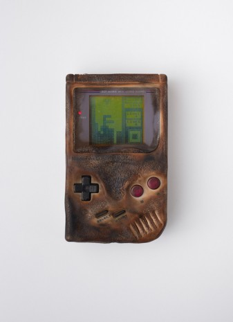 Oliver Payne, Untitled (Replica of Game Boy Damaged in the Gulf War), 2016, OVERDUIN & CO.