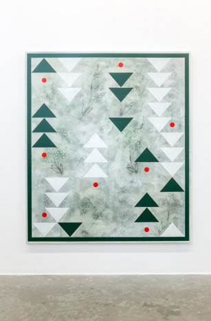 Kamrooz Aram, Ornamental Composition for Social Spaces (2), 2016, Green Art Gallery
