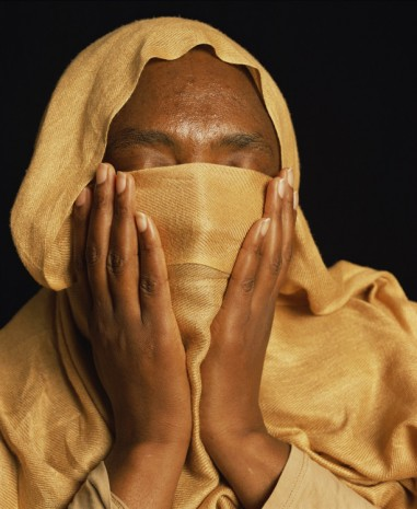 Andres Serrano, Fatima, was Imprisoned and Tortured in Sudan (Torture), 2015, Galerie Nathalie Obadia