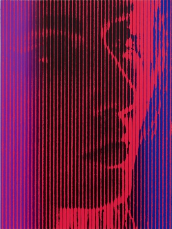 Richard Phillips, As Yet Titled (Red Portrait), 2016 , Almine Rech