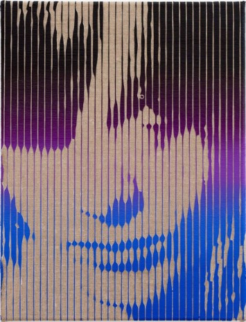 Richard Phillips, As Yet Titled (SM Portrait Il), 2016 , Almine Rech